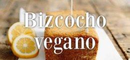 Bizcocho vegano